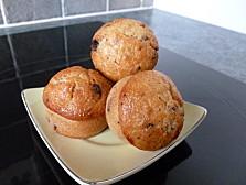muffins banane-toblerone